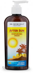 Dr. Mercola Healthy Skin, After Sun Moisturising Cream
