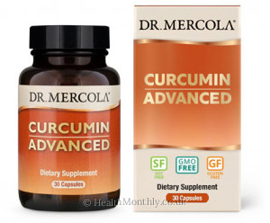 Dr. Mercola Curcumin Advanced, Complex from Organic Curcumin Root Extract