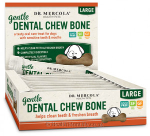 Dr. Mercola Healthy Pets, Gentle Dental Chew Bones