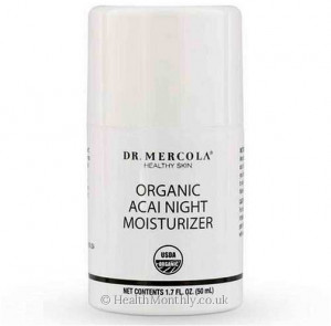 Dr. Mercola Healthy Skin, Organic Acai Night Moisturiser