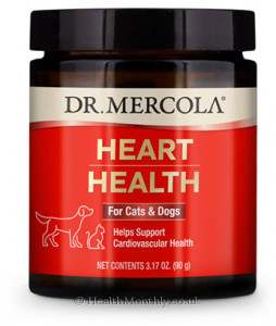 Dr. Mercola Heart Health for Cats & Dogs