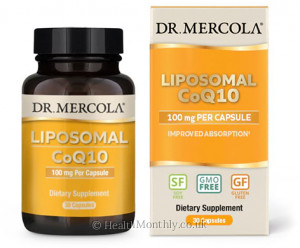 Dr. Mercola Liposomal CoQ10, Improved Absorption