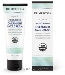 Dr. Mercola Organic Moisturising Overnight Face Cream