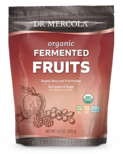 Dr. Mercola Organic Fermented Fruits, Berry & Fruit Powder