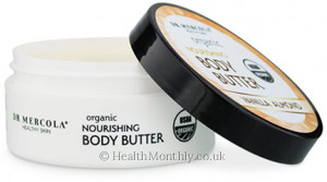 Dr. Mercola Healthy Skin, Organic Nourishing Body Butter