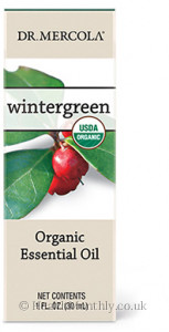 Dr. Mercola Healthy Home, Organic Wintergreen Essential Oil
