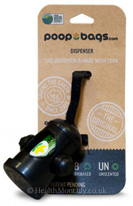 The Original PoopBags® for Dogs, Dispenser, includes Poop Bags