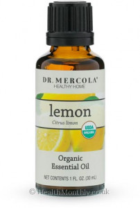 Dr. Mercola Healthy Home, Organic Lemon Essential Oil