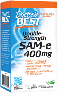 Doctor's Best Double Strength SAM-E