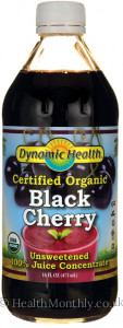 Dynamic Health Certified Organic Black Cherry