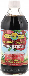Dynamic Health Certified Organic Pomegranate