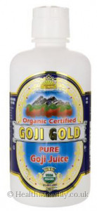 Dynamic Health Certified Organic Goji Gold