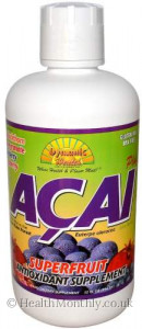 Dynamic Health Laboratories, Acai Plus Juice Blend