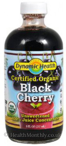 Dynamic Health Organic Black Cherry Juice Concentrate