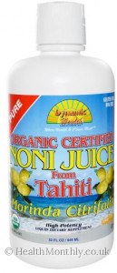 Dynamic Health Organic Noni Juice