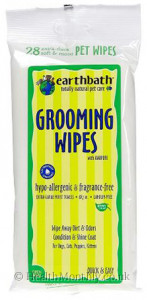 Earth Bath Natural Pet Care Hypo-allergenic Grooming Wipes