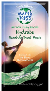 Earth Kiss 100% Natural Miracle Clay Facial