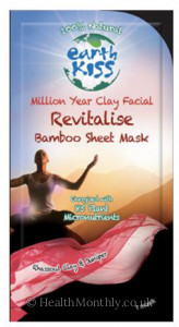 Earth Science Million Year Clay Facial Revitalise Bamboo Sheet Mask