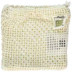 Eco-Bags Natural Cotton Soap Bag