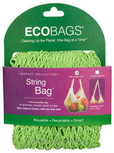 Eco-Bags Tote Handle String Bag