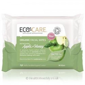 EcoCare Organic Facial Wipes