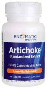 Enzymatic Therapy Artichoke Standardized Extract