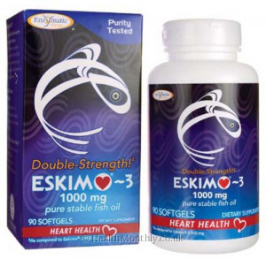 Enzymatic Therapy Eskimo-3, Double Strength