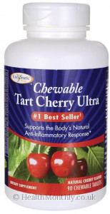 Enzymatic Therapy Tart Cherry Ultra Chewables