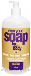 EO Products Everyone Soap for Every Body Liquid Soap 3 in 1