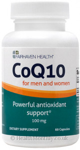 Fairhaven Health CoQ10 Supplement for Male and Female Reproductive Health