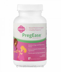 Fairhaven Health PregEase for Morning Sickness & Heartburn Relief