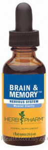 Herb Pharm Brain & Memory