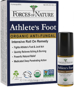 Forces Of Nature Athlete's Foot/Jock Itch Control Rollerball