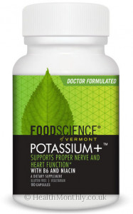Foodscience of Vermont Potassium +