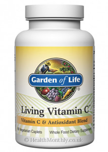 Garden of Life Living Vitamin C