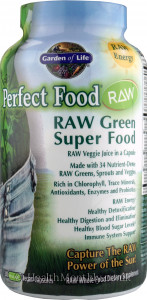 Garden of Life Perfect Food Raw Green Super Food