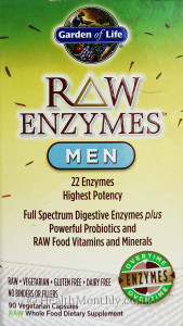 Garden of Life Raw Enzymes Men