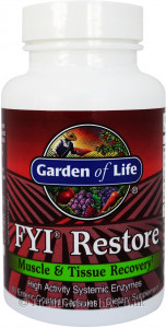 Garden of Life FYI Restore Muscle and Tissue Recovery