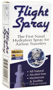 Global Source Flight Spray Nasal Hydration Spray for Airline Travellers