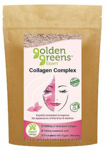 Golden Greens Expert Organic Collagen Complex