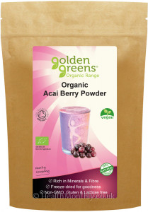 Golden Greens Organic Acai Berry Powder