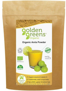 Golden Greens Organic Amla Powder