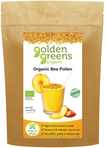Golden Greens Organic Bee Pollen