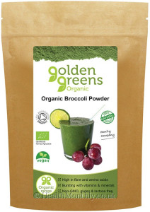 Golden Greens Organic Broccoli Powder