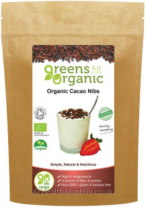 Golden Greens Organic Cacao Nibs