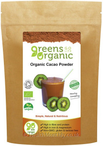 Golden Greens Organic Cacao Powder