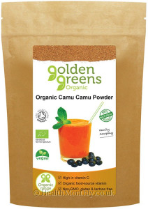 Golden Greens Organic Camu Camu Powder