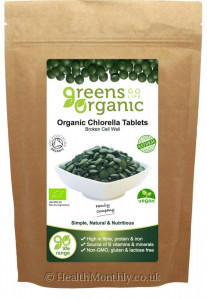 Golden Greens Organic Chlorella Tablets