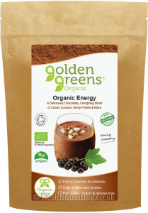 Golden Greens Organic Energy
