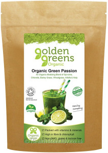 Golden Greens Organic Green Passion Powder
